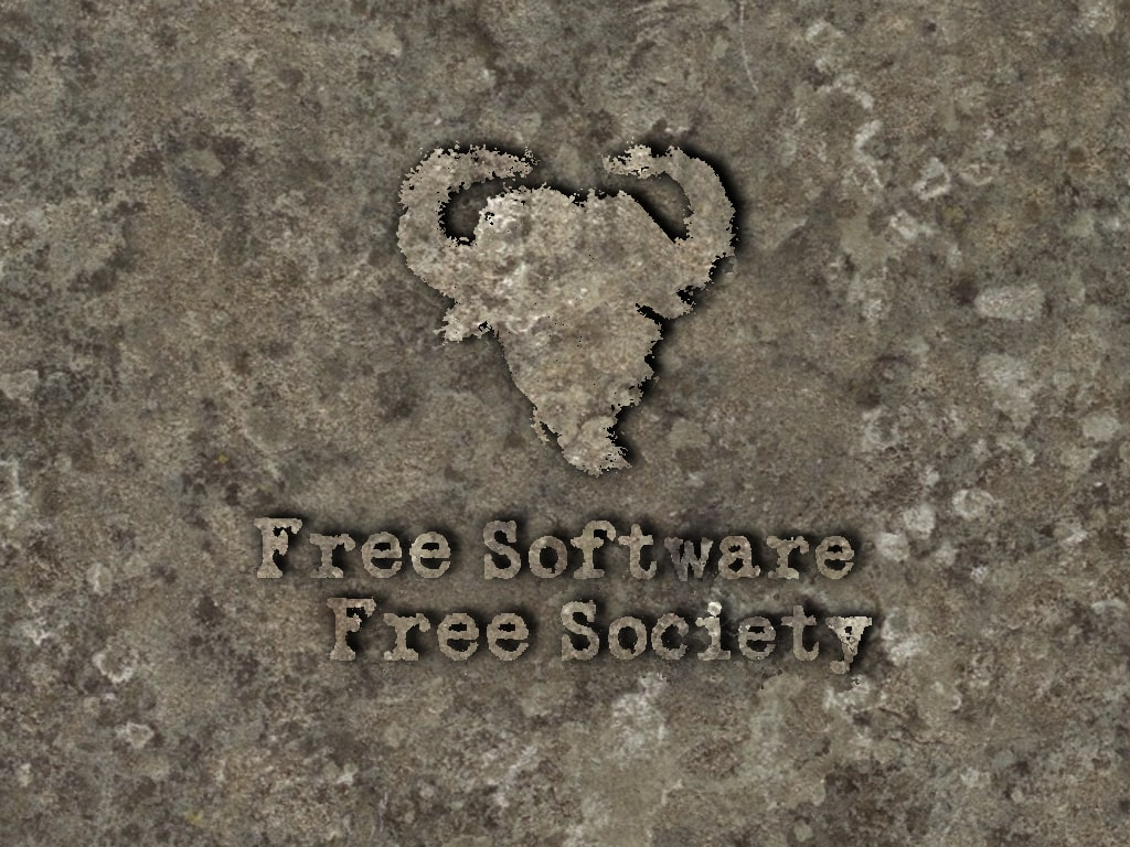 Free (libre) Software, Free Society