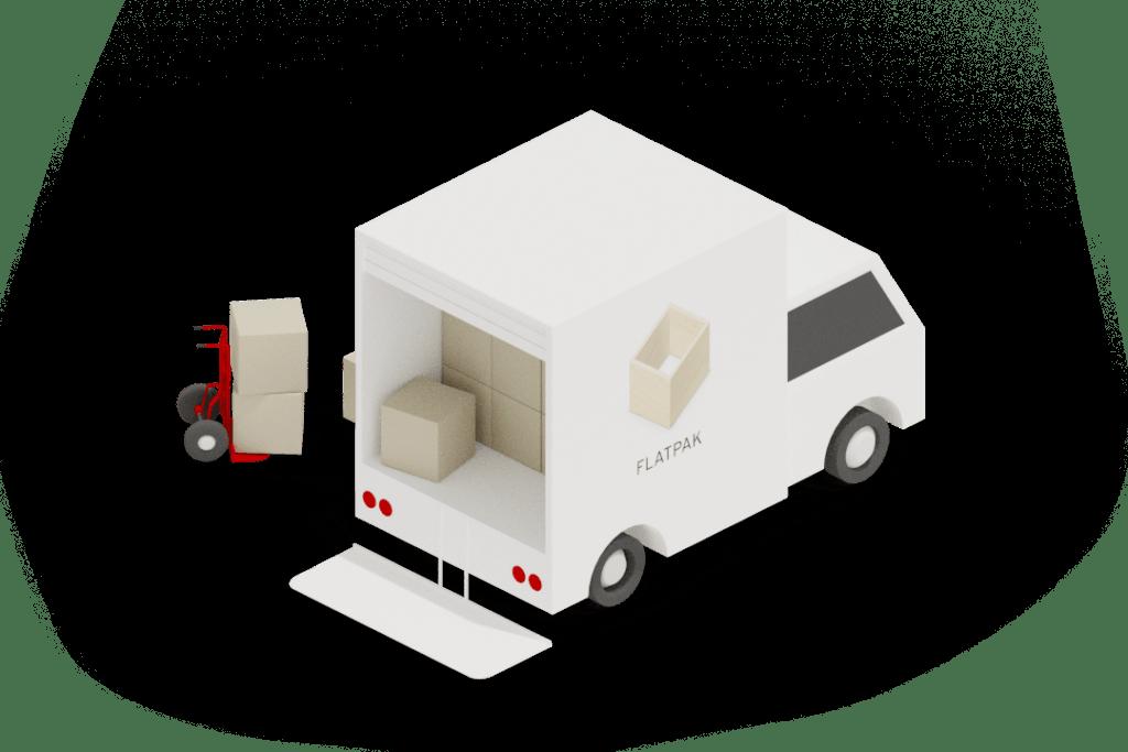 Flatpak truck
